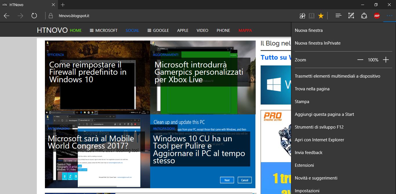 Microsoft Edge riceve la compressione Brotli in Windows 10 Creators Update HTNovo