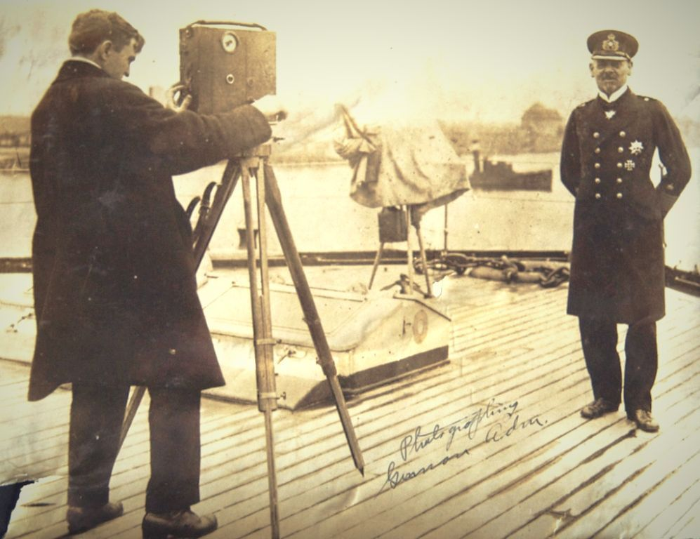 First world war on film 2016 nelson edwards filming admiral von hipper june 1916 from american cinematographers in the great war 2014 courtesy wiegman family fandeluxe Image collections