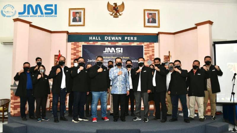 Lantik Pengurus Pusat JMSI, Ketua MPR Ingatkan Bahaya Informasi Hoax Pandemi COVID-19