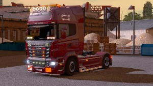 Scania V8 Tuning Mod