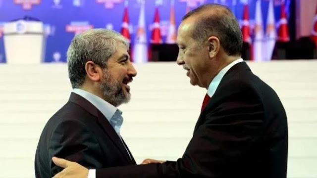 Nyali Besar Presiden Erdogan Bertemu Pemimpin Hamas Palestina yang Paling Diburu AS