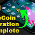 OneCoin Migration Complete