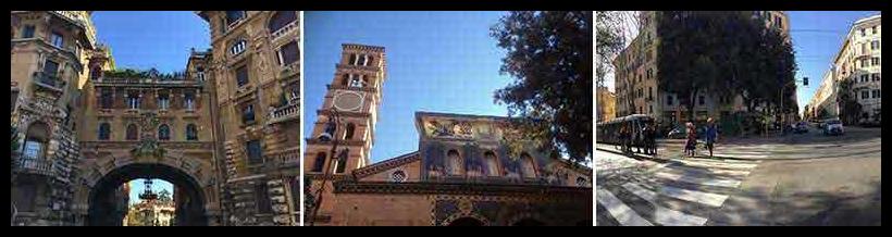 Coppedè - Chiesa di S. Maria Addolorata - Piazza Buenos Aires