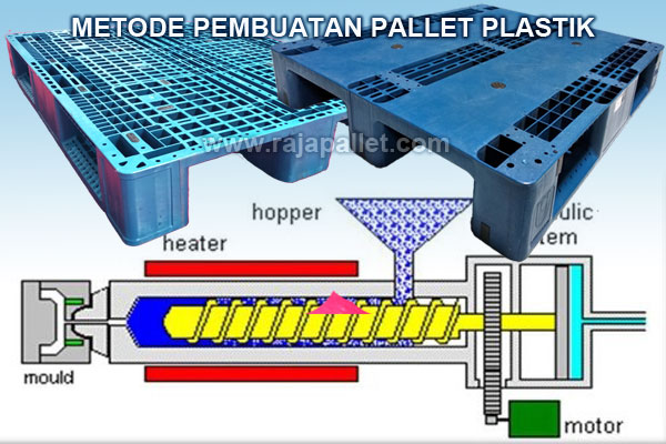 metode pembuatan pallet plastik
