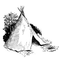 indian native american teepee tent house image digital download