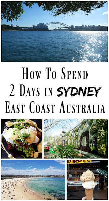 PIN FOR LATER: How to spend two-days in Sydney, Australia! Tips and advice from a local on how to spend just 48 hours in Australia's most beautiful city.