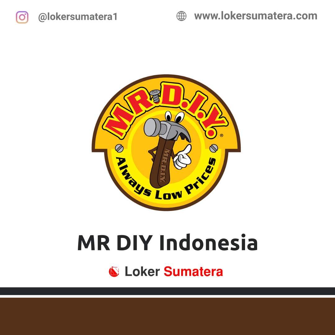 Lowongan Kerja Jambi: MR DIY April 2021