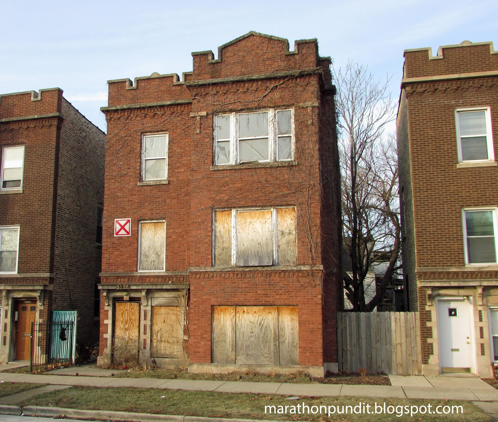 New Apartment Buildings Chicago: Marathon Pundit: (Photos) Abandoned Homes In Chicago's