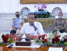 Jokowi Minta Angka Kematian dan Kasus Harian Covid-19 di 9 Provinsi Diturunkan
