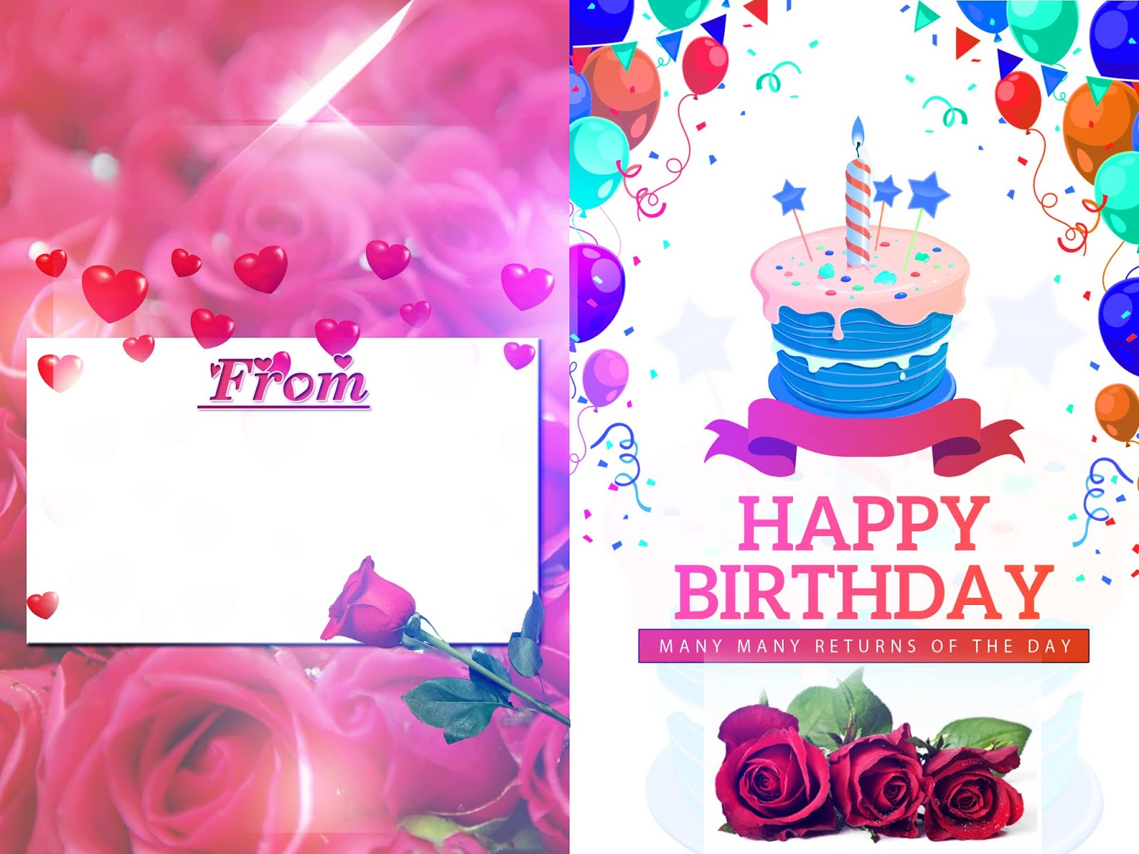 Happy Birthday Greeting Card 6x8 Psd Royalpsd Download Free Psd