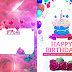Happy Birthday Greeting Card 6x8 PSD