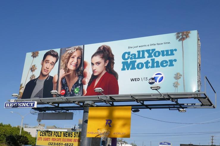 Call Your Mother sitcom billboard