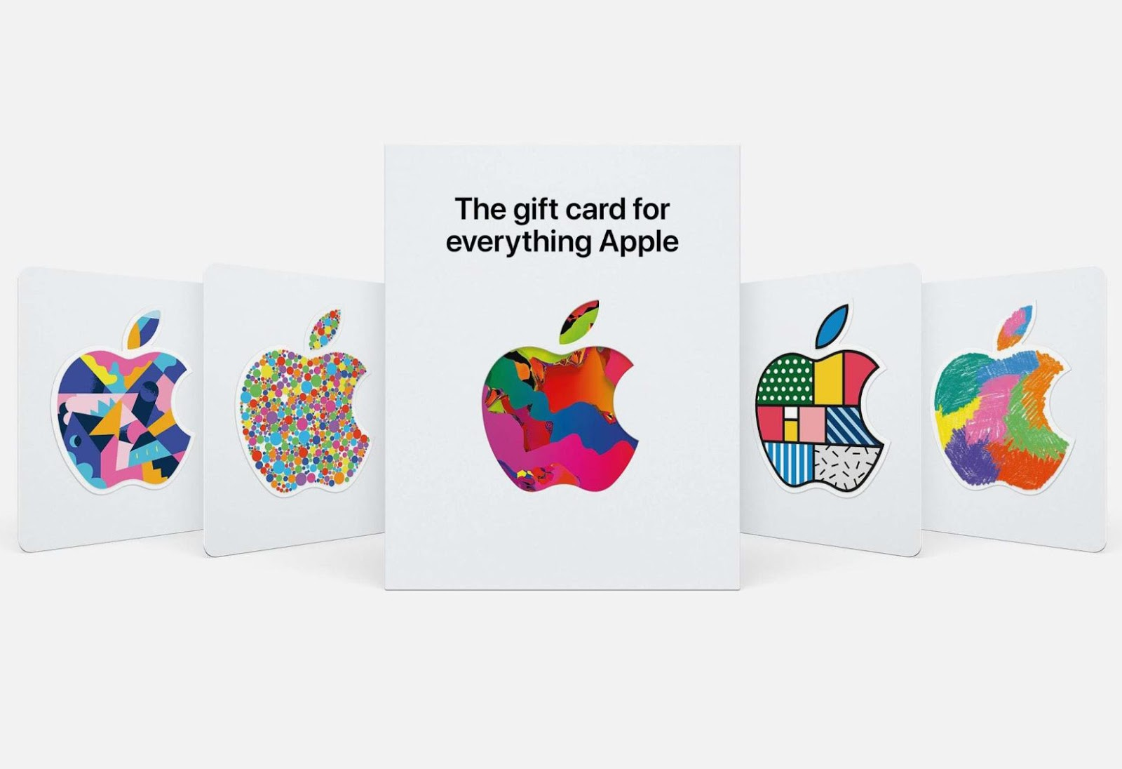 New Apple Gift Cards can be used in Apple Stores and the App Store