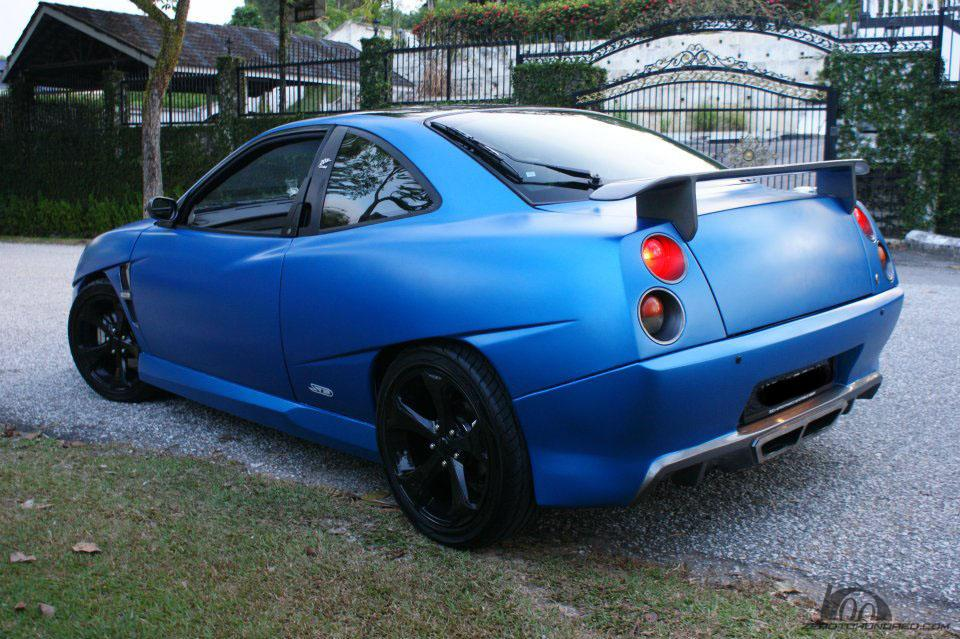 How Much Is A Car Paint Job >> automotive trend center: Fiat Coupe 20VT with Custom SD ...