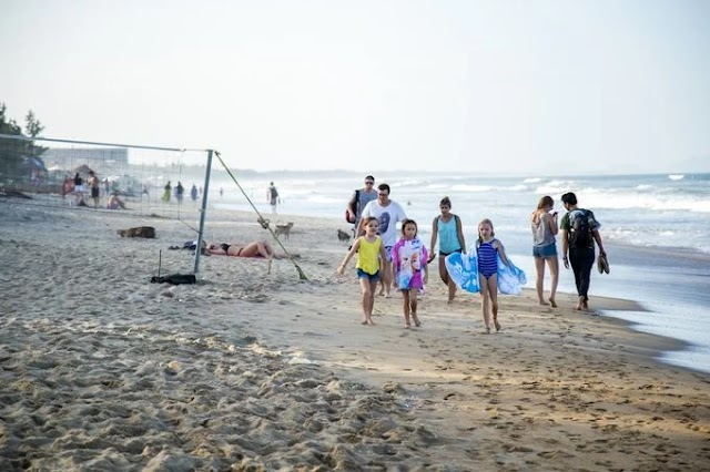 Vietnam: Pristine beaches are not far from crowded areas