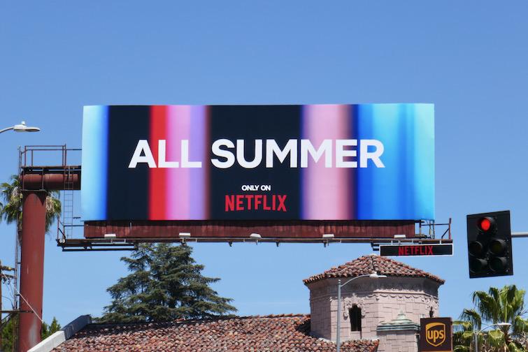 All Summer Netflix billboard
