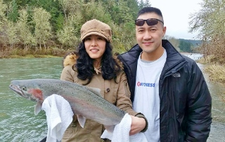 South umpqua river fishing rogue river fishing guides for Umpqua river fishing report