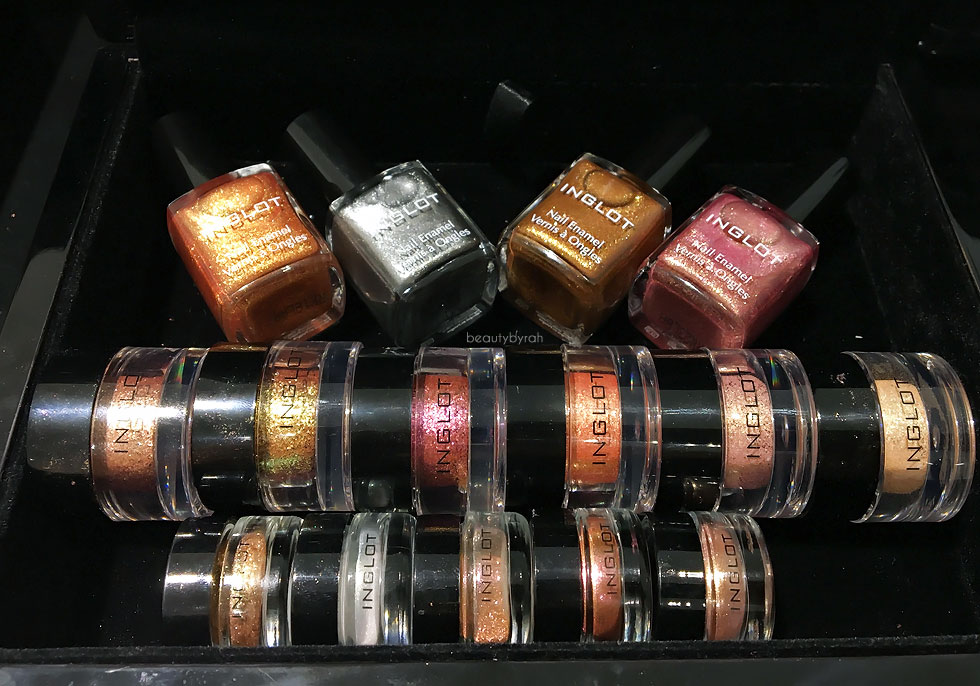 nglot Cosmetics The Star In You Collection and AMC Pure Pigment Eyeshadow