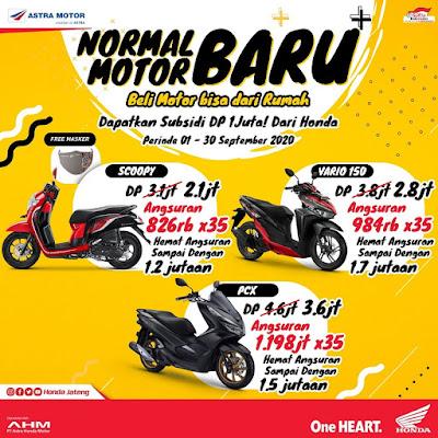 Promo Honda Normal Baru