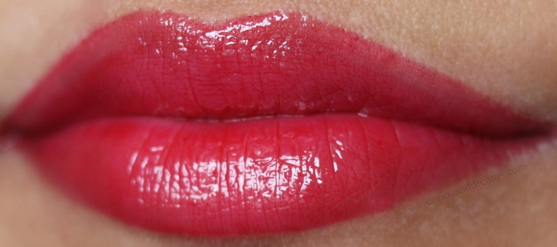 NYX Butter Gloss review, NYX Butter Gloss swatch, NYX Butter Gloss Red Velvet