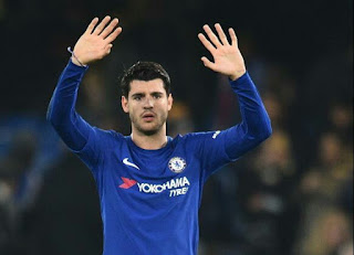 Alvaro Morata has made his sixth goal.