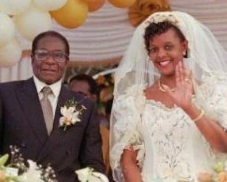 Grace Mugabe is reportedly divorcing Robert Mugabe according to Zimbabwe news sites