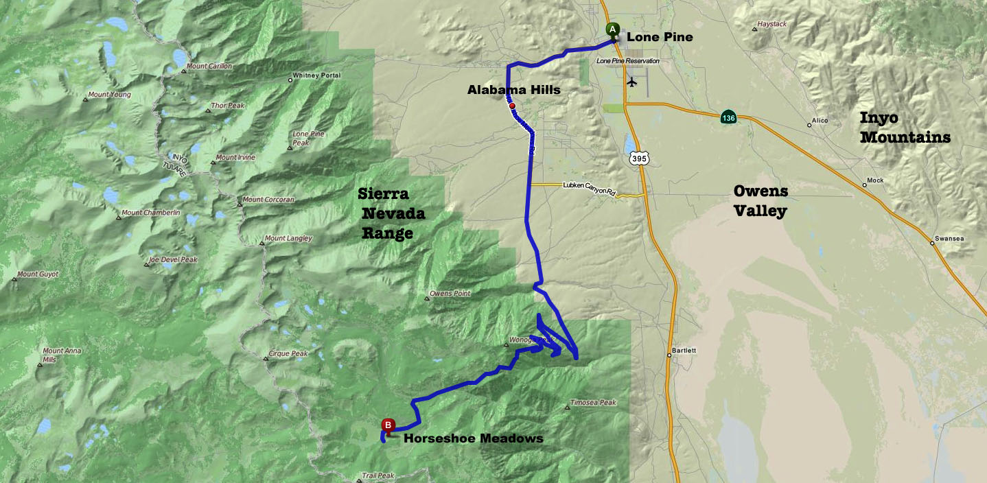 RiverBear Photo Blog: Lone Pine, CA #3 - Film History ...