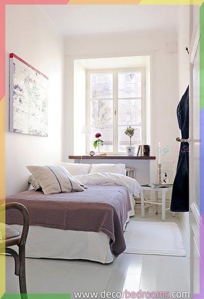 تنظيم غرف نوم الصغيرة الحجم