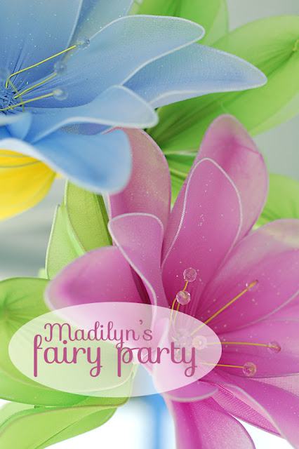 Simple ideas for a magical fairy birthday party.