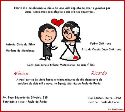 Frases Convite Casamento Engraçadas