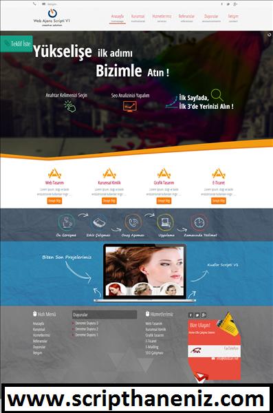 Blogger Web Ajans(Webmaster) Scripti İndir