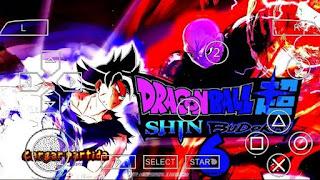 SAIUU !! DRAGON BALL SUPER SHIN BUDOKAI 6 V3 (Mod) PARA ANDROID (PPSSPP) - DOWNLOAD ISO