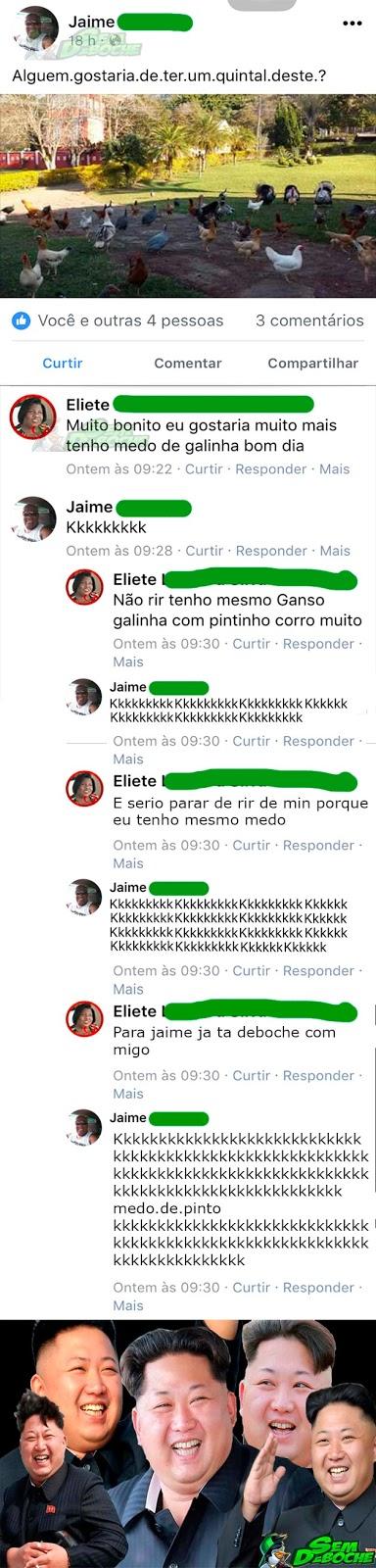 MEDO DE GALINHA