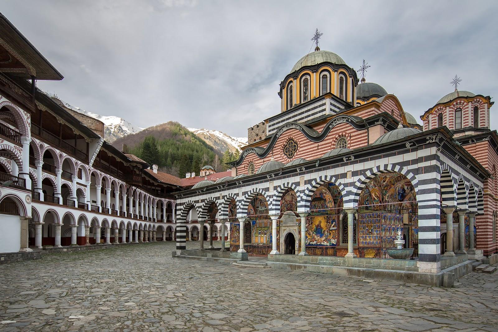 Bułgaria-Monastyr Rylski