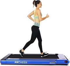 Ancher 2 in 1 Folding Treadmill