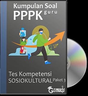 Kumpulan Soal PPPK Guru - Tes Sosio Kultural Paket 3 - www.gurnulis.id