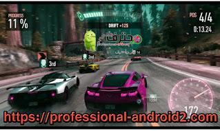 تحميل لعبة Need for Speed No Limits مهكرة اخر اصدار للأندرويد
