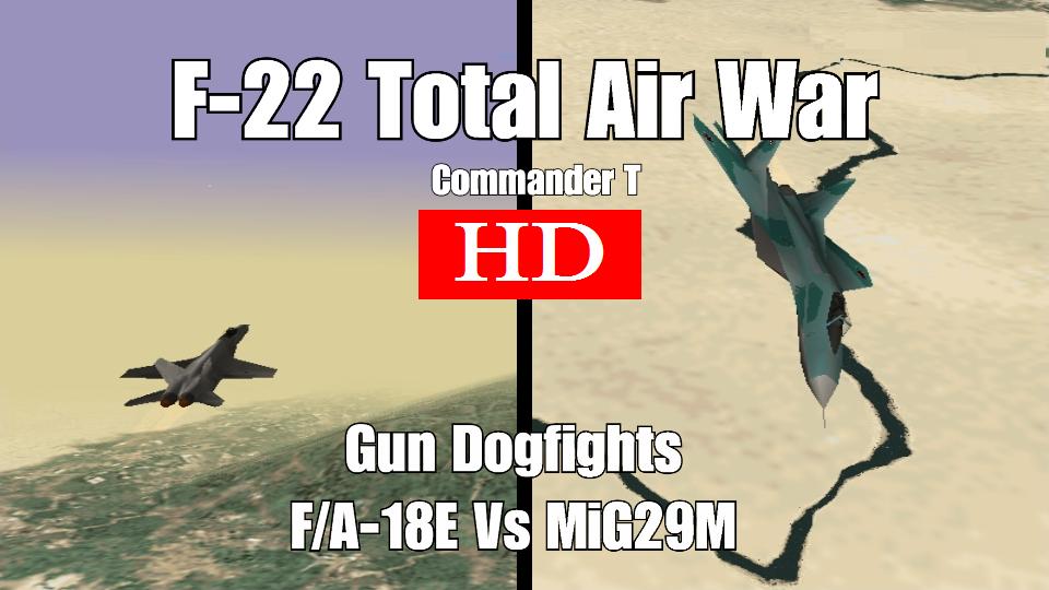 F-22 Total Air War Lets Play!