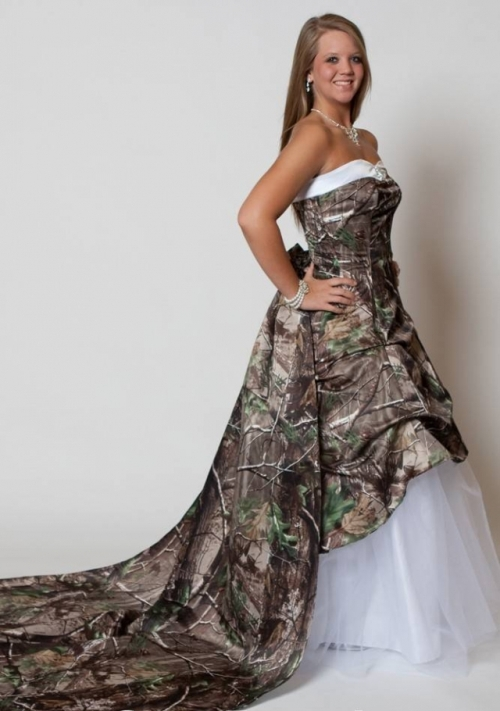 Start To Choose These Pretty Military Camouflage Selection Wedding Dresses That Quite Stunning Choice Ever For Any Ceremony