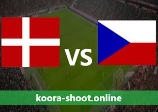 تفاصيل مباراة جمهورية التشيك والدنمارك اليوم بتاريخ 03/07/2021 يورو 2020