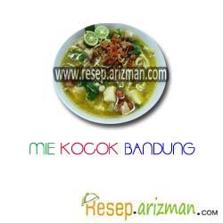 Resep Mie Kocok Bandung Masakan Indonesia