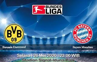 Prediksi Borussia Dortmund vs Bayern Munchen 26 Mei 2020