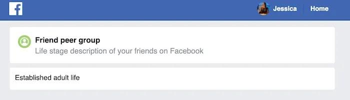 يحتوي حساب Facebook النموذجي على مجموعة واسعة من البيانات.