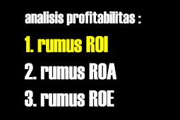 Rumus ROI dalam Analisis Profitabilitas