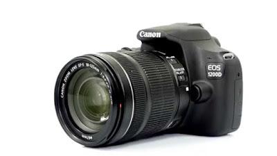 Bagian bagian kamera Kamera Canon 1200d