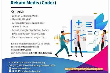 Loker Bandung Rekam Medis Edelweiss Hospital