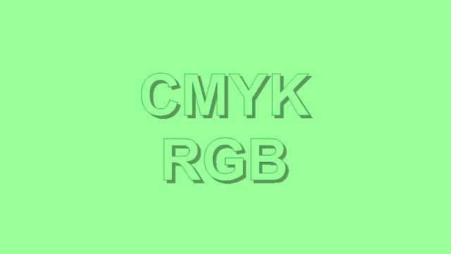 Perbedaan Mode Warna CMYK dan RGB