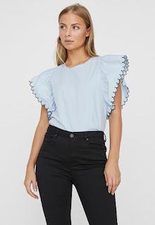 Vero Moda - Дамска Блуза с ръкави