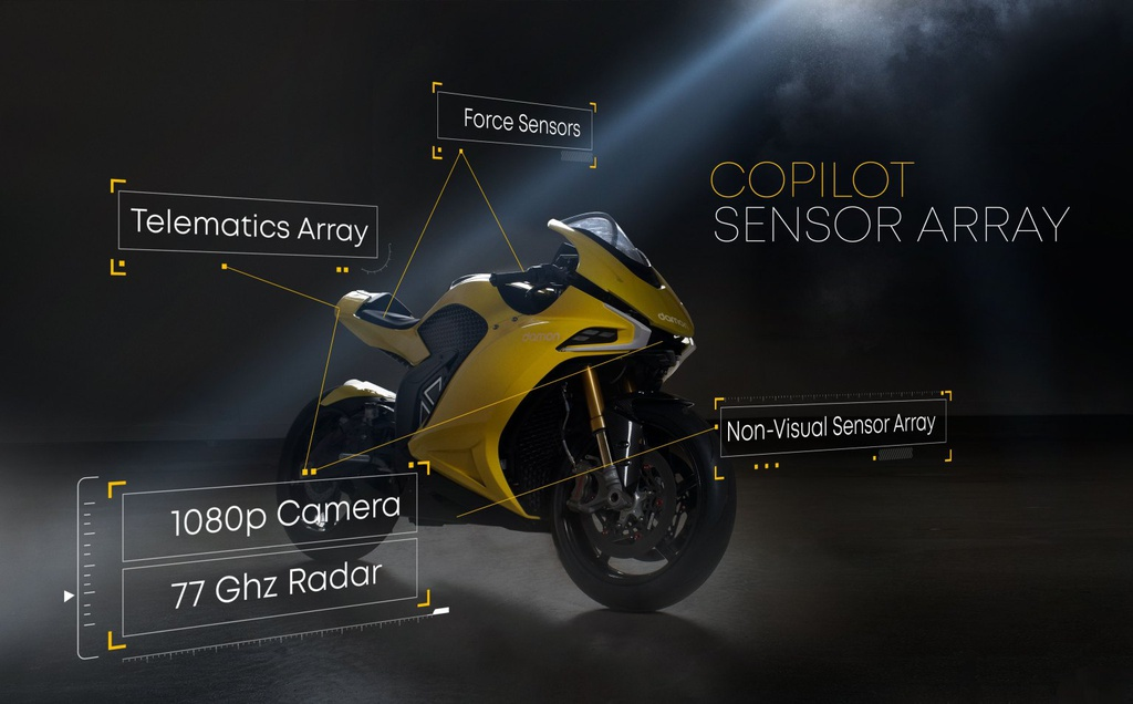 Siêu môtô điện Damon Hypersport có thêm phiên bản mới, giá 39.995 USD