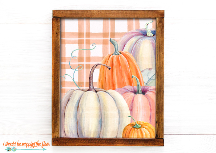 Pumpkin Printables for Fall